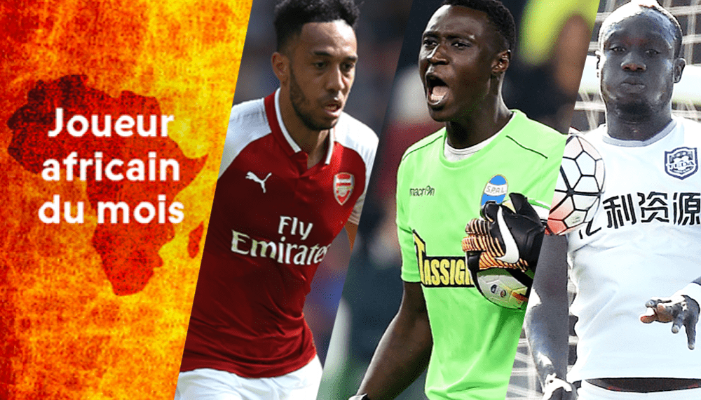 Joueur africain du mois de mai: Aubameyang face à deux  Sénégalais