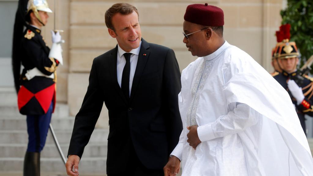 Société civile, arrestations, financement du G5 Sahel: M. Issoufou à l'Elysée