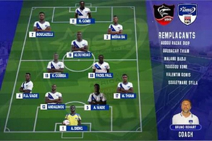 Match en retard : Dakar Sacré-Cœur et USO, vainqueurs sur Génération-Foot et Stade de Mbour
