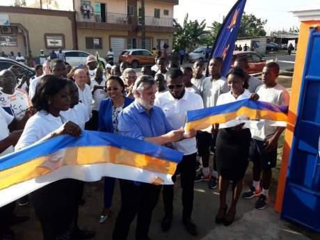 Cameroun : Le club français Montpellier avec Henri Bedimo inaugurent une académie à Douala
