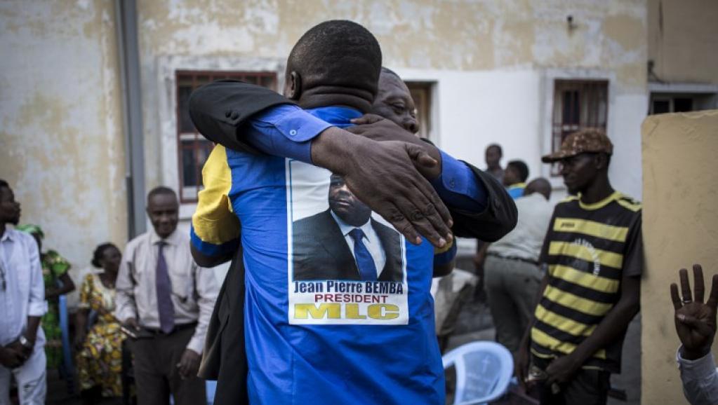 Liberté provisoire pour Bemba: à Kinshasa, le MLC fête la décision de la CPI
