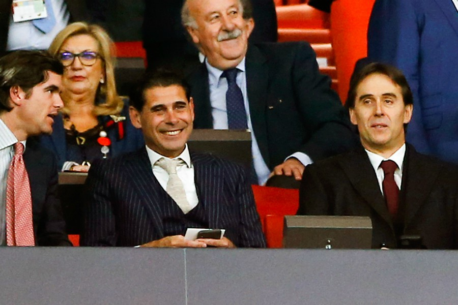 Espagne: Fernando Hierro nouveau sélectionneur