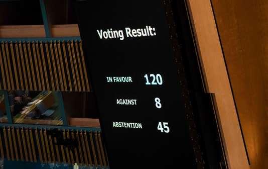 L'ONU condamne l'usage excessif de la force par Israël à Gaza