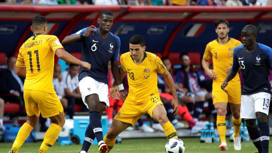 #CdM2018 : la France s'impose 2-1 face à l'Australie (Vidéo)