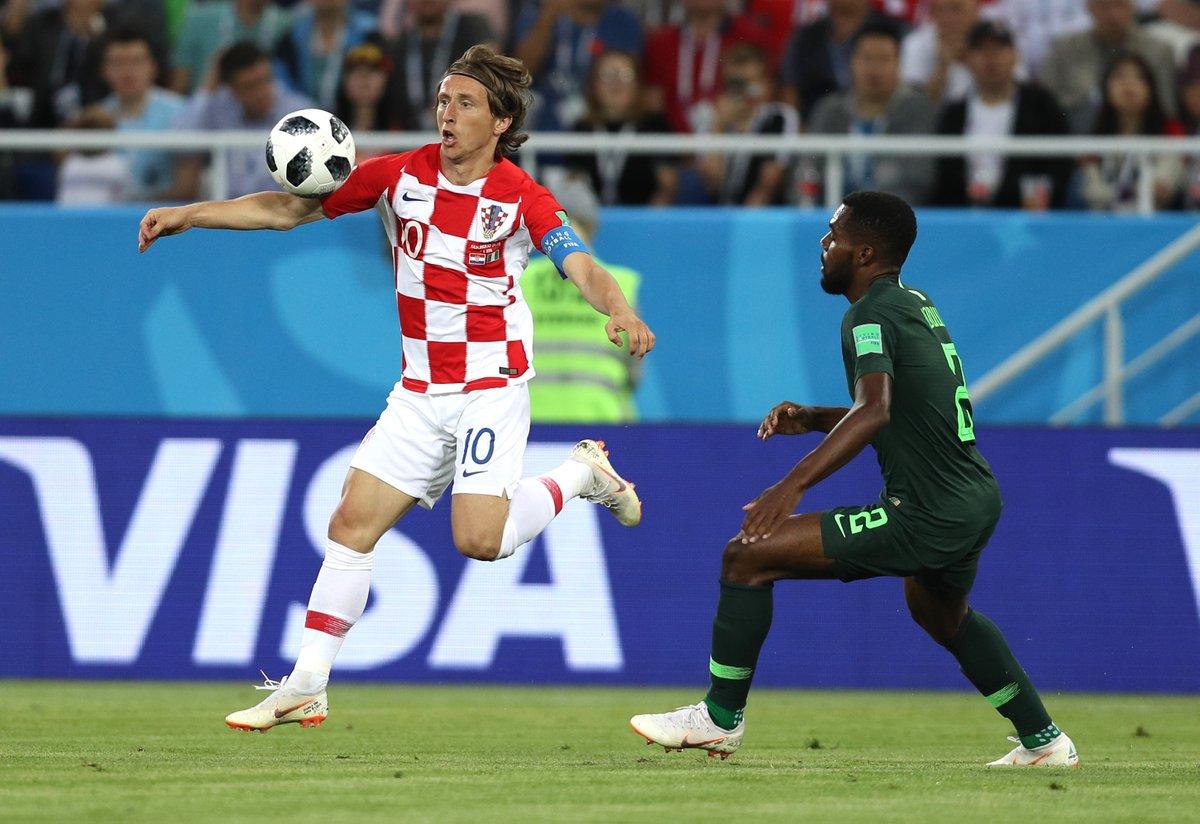 Le Nigeria dominé par la Croatie (2-0)
