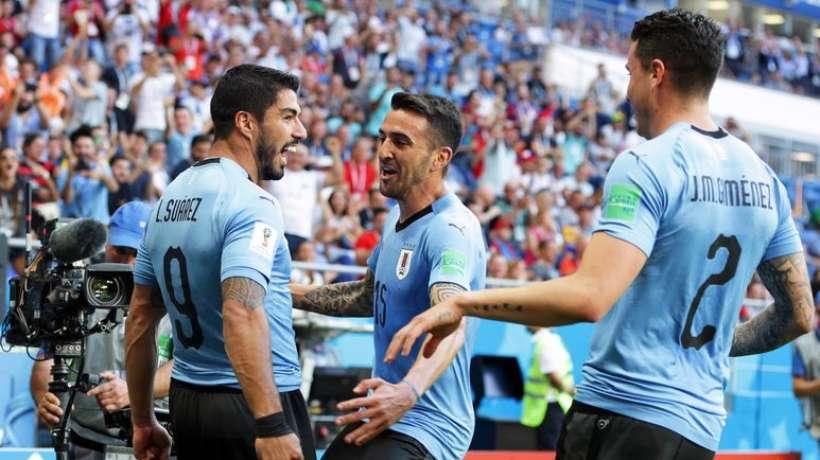 #CM2018 : l'Uruguay rejoint la Russie en 8e