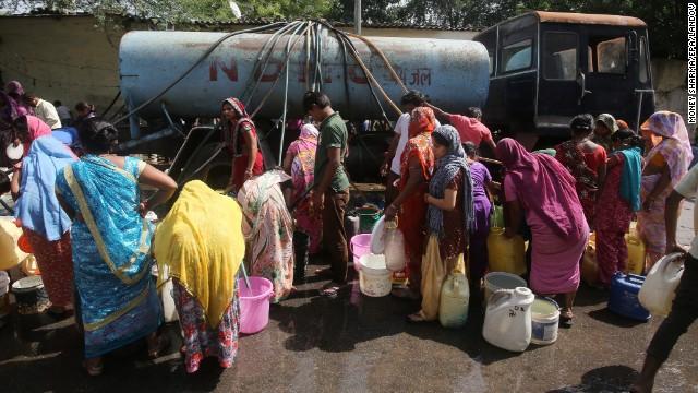 La pire crise de l'eau de l'histoire en Inde