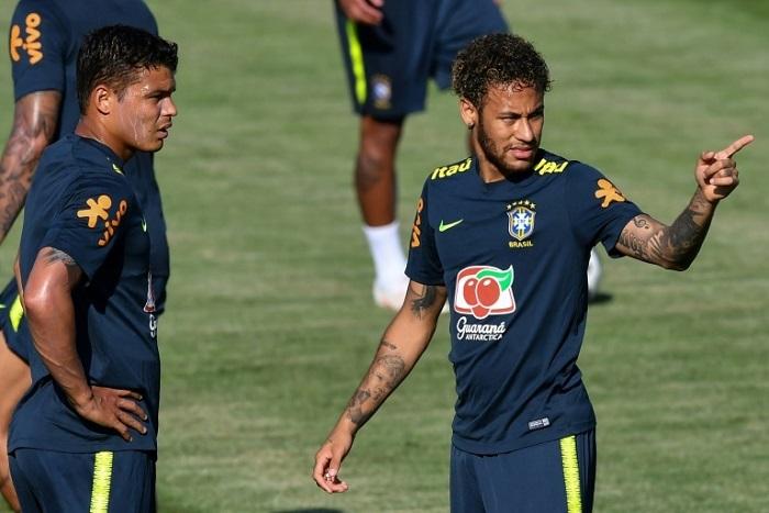#CM2018 : Thiago Silva : « Neymar m'a insulté »