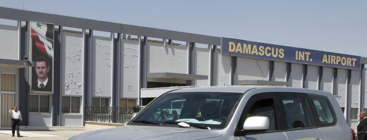 Syrie : deux missiles attribués à Israël frappent les environs de l'aéroport de Damas
