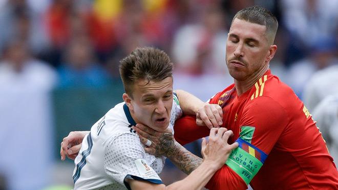 #ESPRUS : les prolongations entre la Russie et l'Espagne (1-1)