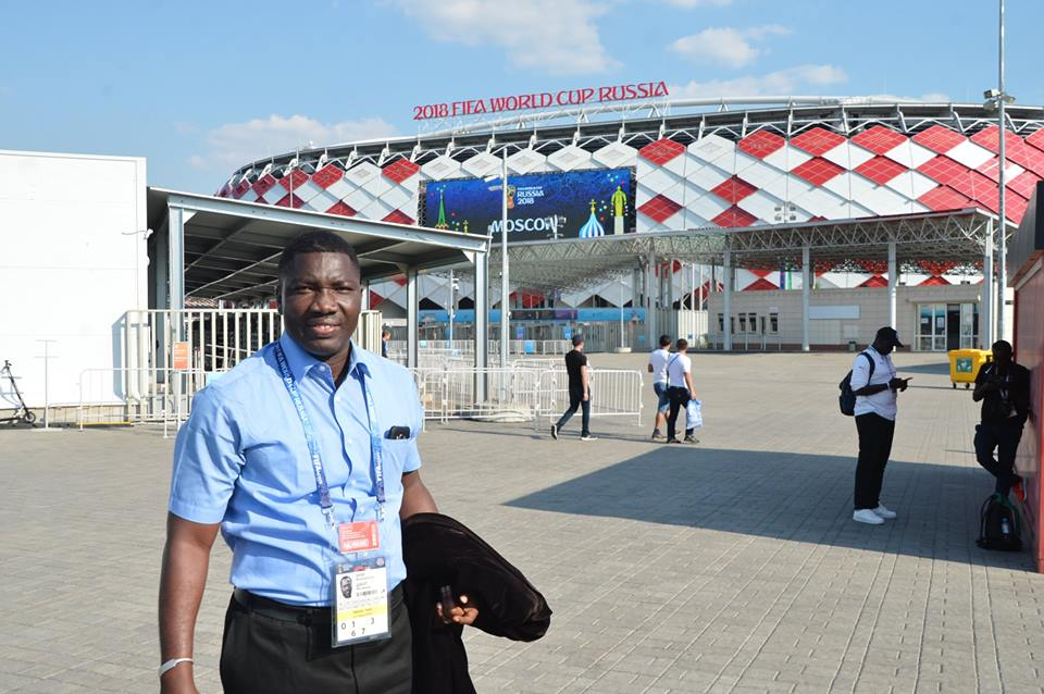 Ignace Ndeye, journaliste envoyé spécial Sud Fm en Russie