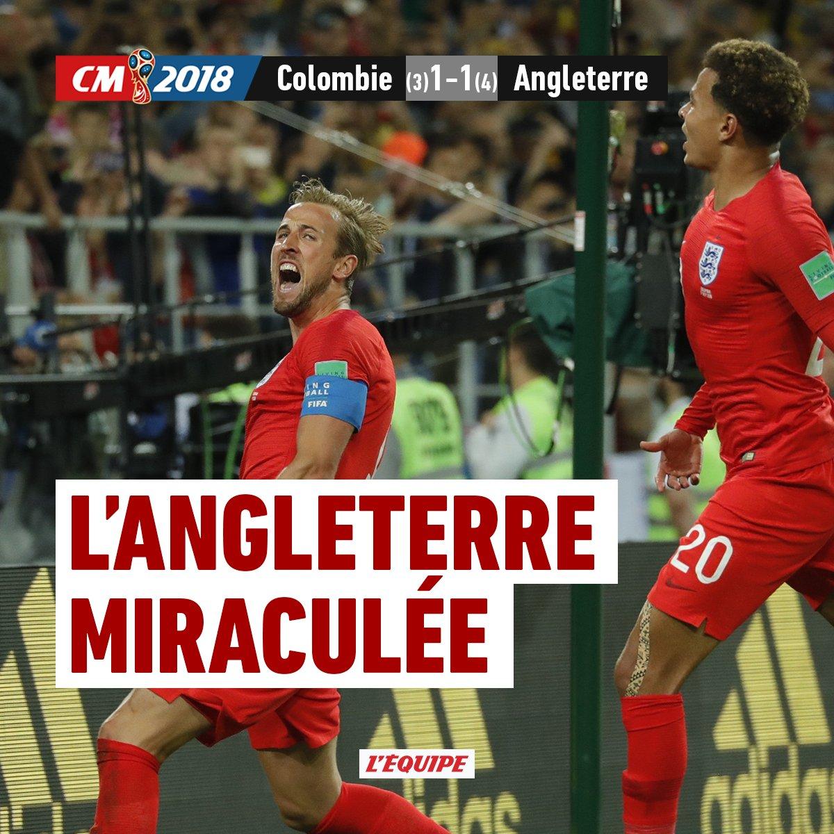 #COLENG : Dier envoie l'Angleterre en quart de finale