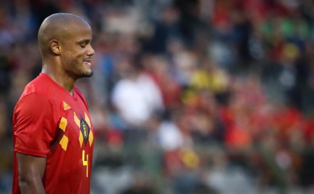 Belgique : Vincent Kompany ne se préoccupe pas de Neymar