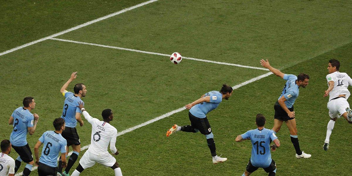 #URUFRA : Raphael Varane donne l'avantage à la France (1-0)