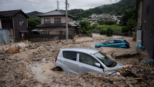 Japon : des intempéries font plus de 50 morts