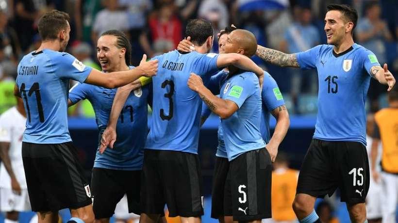 VIDEO : les Uruguayens accueillis en héros