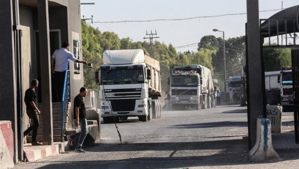 Israël ferme le seul point de passage de marchandises vers la bande de Gaza