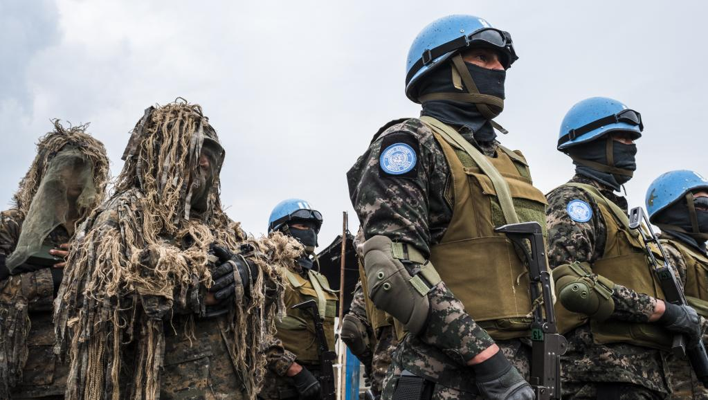RDC: les casques bleus de la Monusco déployés à Bijombo