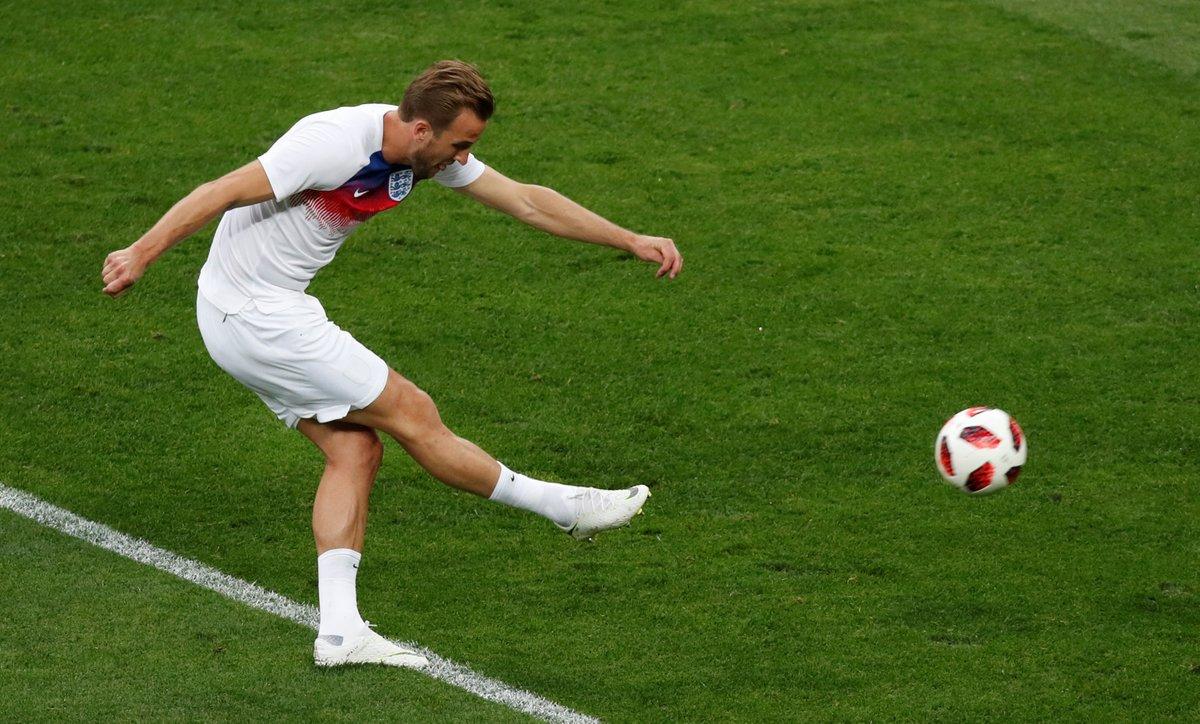 #CROENG : Trippier ouvre le score pour l'Angleterre (0-1)