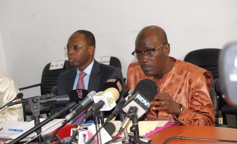 Seydou Guèye en conférence de presse ce vendredi