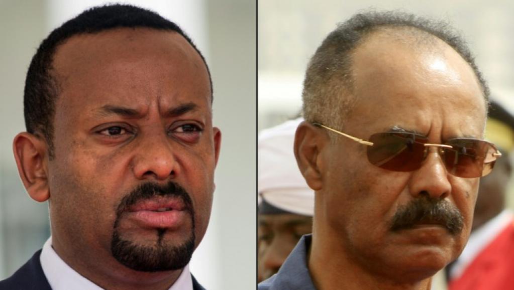 Issayas Afewerki, le Président érythréen, accueilli par le Premier ministre éthiopien à Addis-Abeba