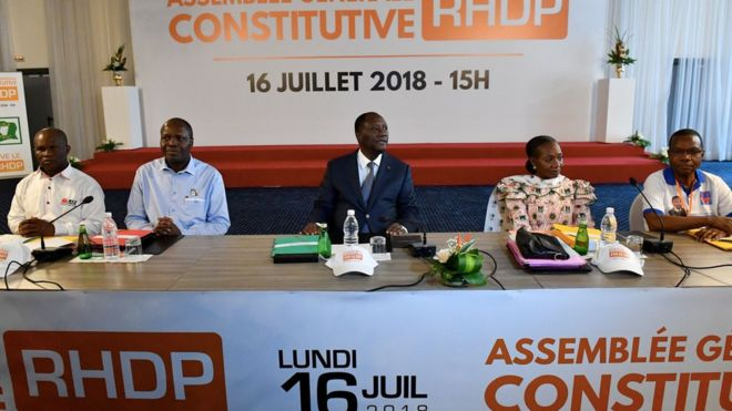 Alassane Ouattara ne sera pas candidat en 2020