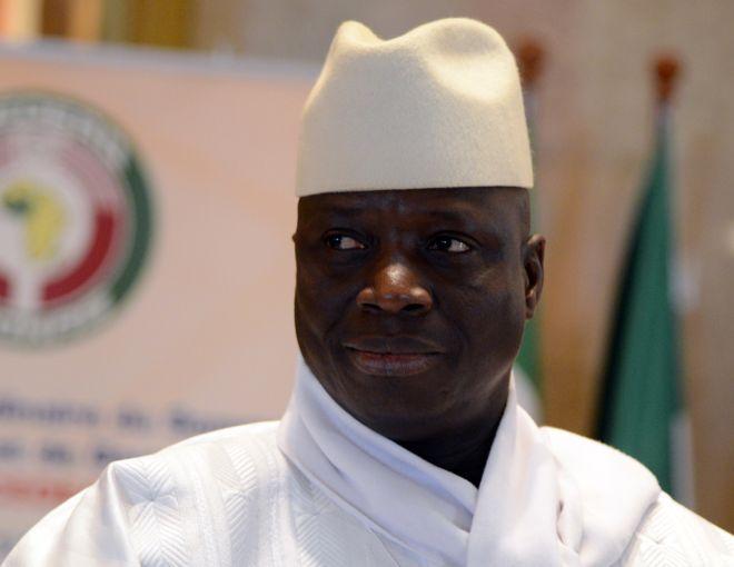 Un enregistrement audio de Jammeh crée la polémique