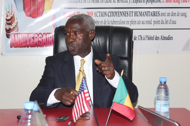 S.E Monsieur l'Ambassadeur des USA au Sénégal Tulinabo S. Mishungi