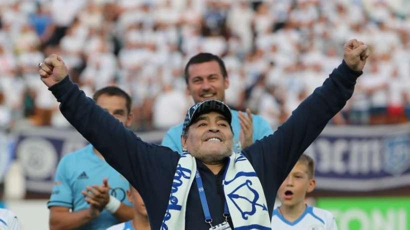 L'improbable nouvelle aventure de Diego Maradona