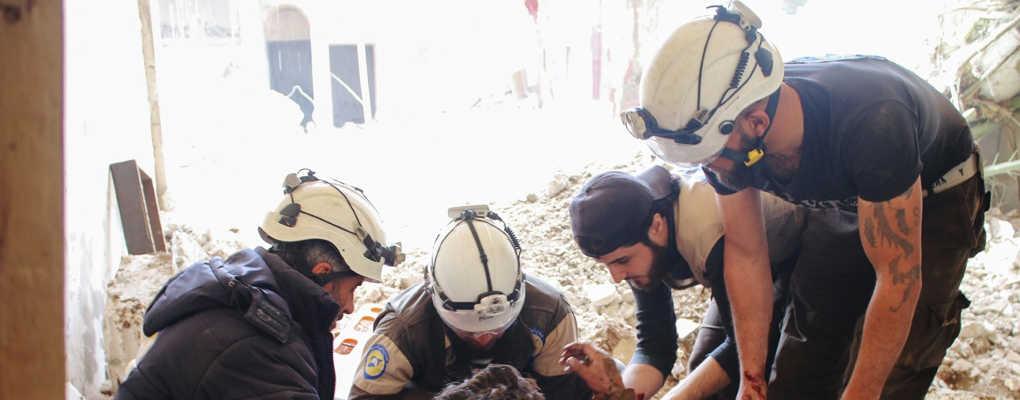 Syrie : des casques blancs exfiltrés par la France, le Canada et le Royaume-Uni
