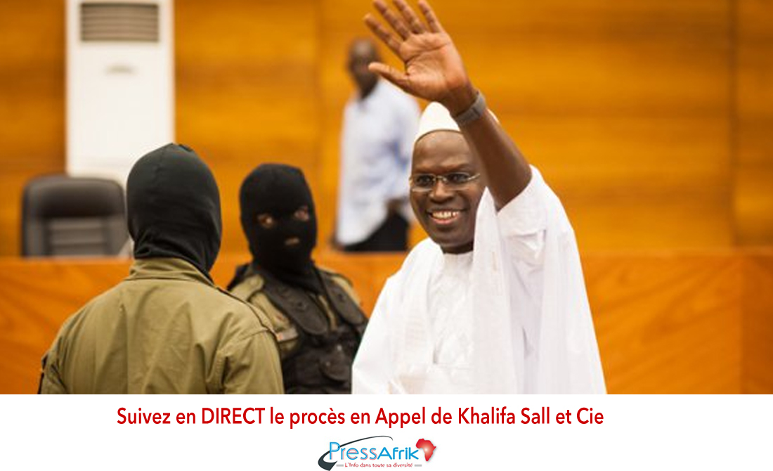 Suivez en DIRECT le procès en Appel de Khalifa Sall et Cie