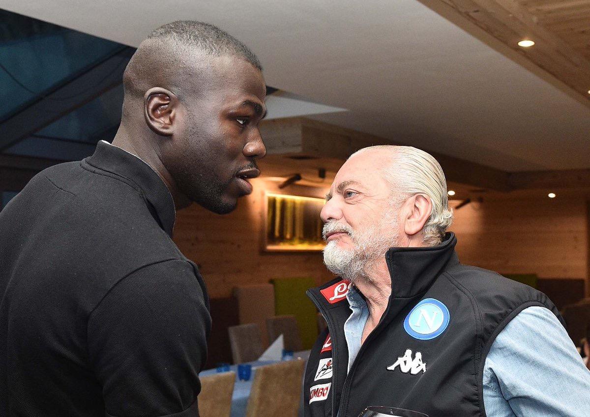 Le président du Napoli révèle que son club a refusé une offre de 100 millions pour Coulibaly