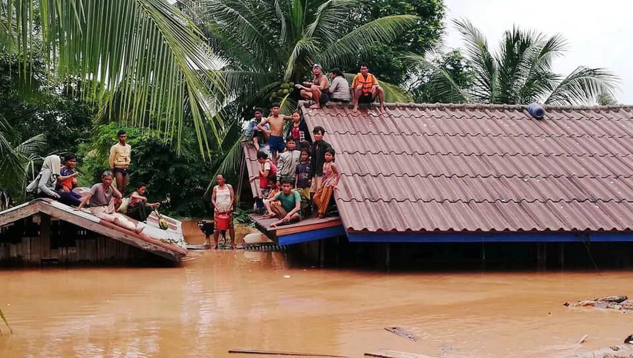 Laos : 19 corps retrouvés après l'effondrement d'un barrage