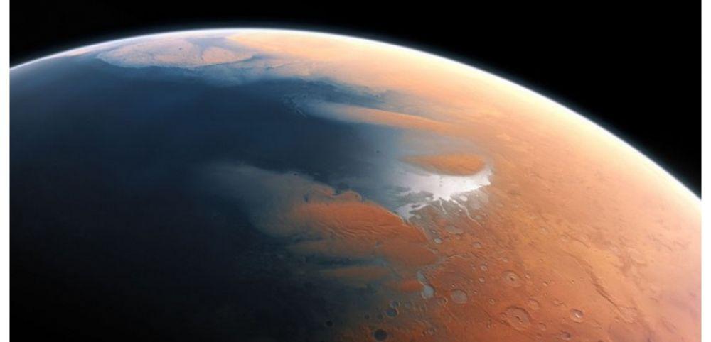 On a découvert un vaste lac d'eau sur Mars