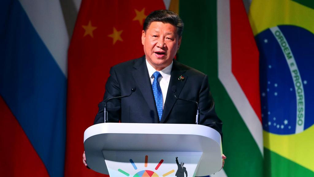 Au sommet des BRICS, le président chinois met en garde Washington