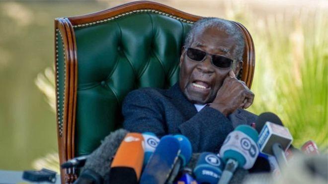 Mugabe refuse de voter pour Mnangagwa
