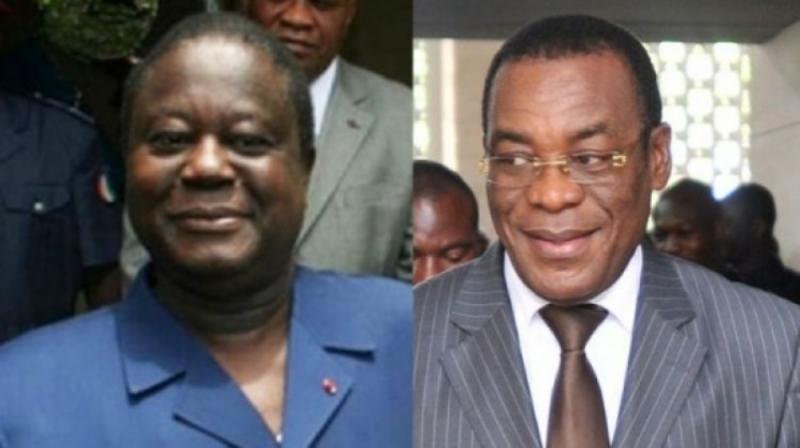 Côte d'Ivoire: Henri Konan Bédié, du PDCI, reçoit Pascal Affi N'Guessan, du FPI