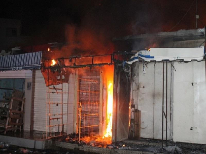 Incendie Marché Ziguinchor : une dame meurt par infarctus après avoir constaté les dégâts