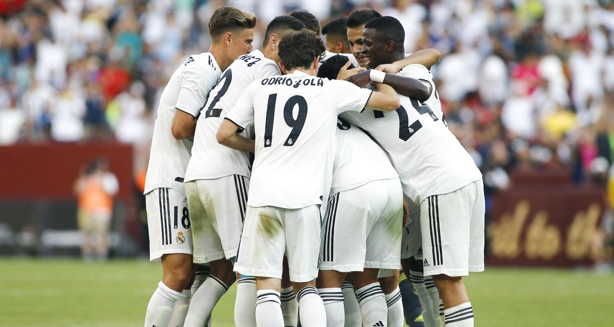 Amical : le Real Madrid s'impose face à l'AC Milan