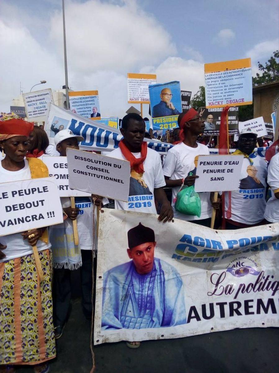 Marche de Pikine: les 9 commandements de l'opposition à Macky