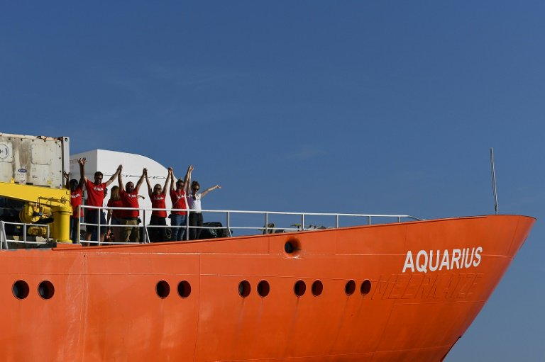 Aquarius : la France va accueillir 60 migrants débarqués à malte