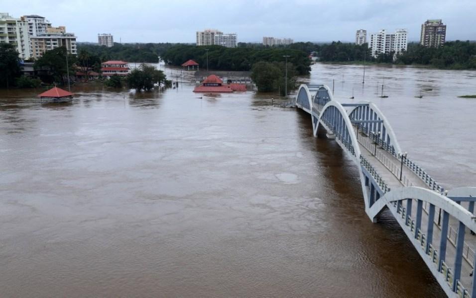 Inde: 77 morts dans des inondations au Kerala
