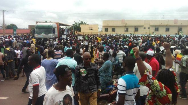 Une marche contre la victoire d'IBK au Mali