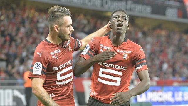 Le magnifique but de Ismaila Sarr (Rennes 1-0 Angers)