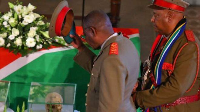 L'Allemagne restitue des ossements à la Namibie