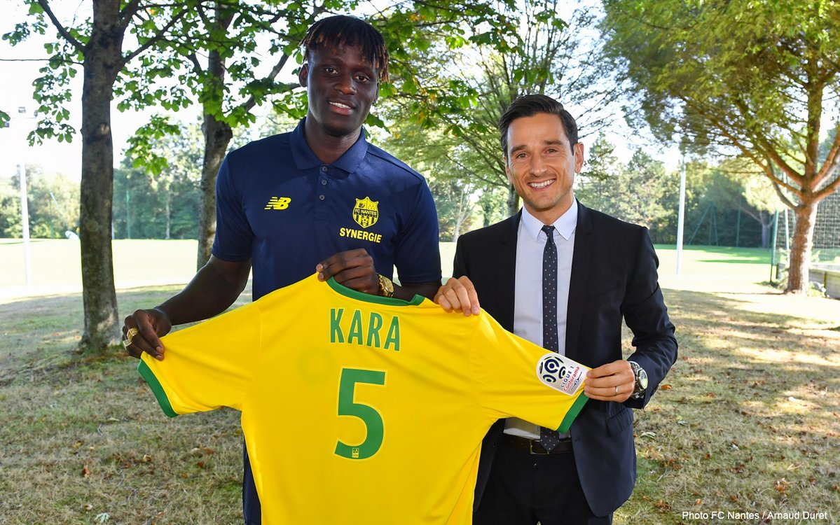 C'est officiel ! Kara Mbodji est un joueur du FC Nantes