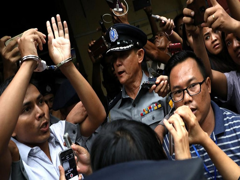 Birmanie: 7 ans de prison pour deux reporters, l'ONU demande leur libération