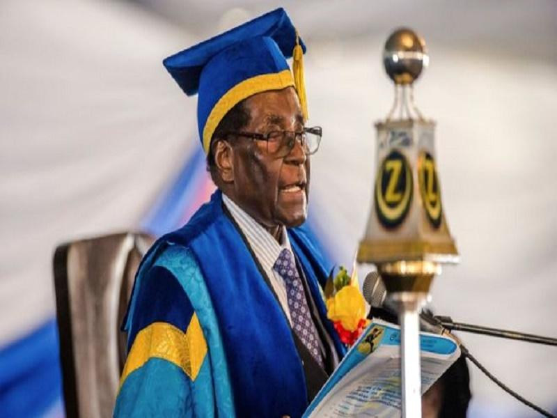 Mugabe reconnait la victoire de Mnangagwa