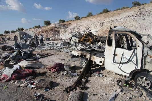 Syrie : reprise des bombardements syriens et russes contre la province d'Idlib