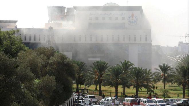 Un groupe armé attaque la NOC à Tripoli